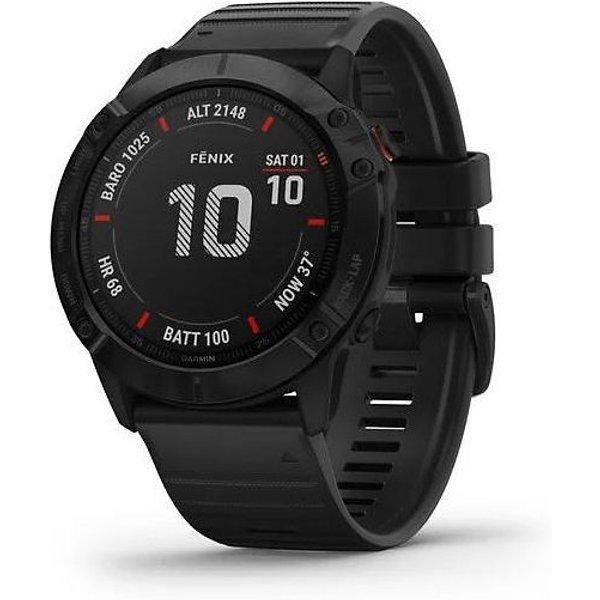 Garmin Watch Fenix 6X Pro Solar Carbon Grey DLC
