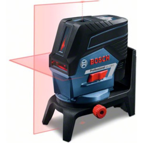 Bosch Kombilaser GCL 2-50 C mit 4 x 1,5-V-LR6-(AA)-Batterien RM 2 BT 150