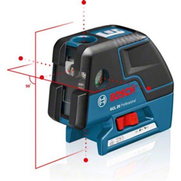 Bosch Kombilaser GCL 25 mit Schutztasche und Baustativ BT 150