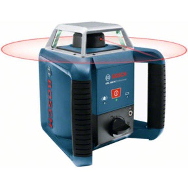 Bosch Rotationslaser GRL 400 H mit LR 1 Baustativ BT 170 HD und Messstab GR 240