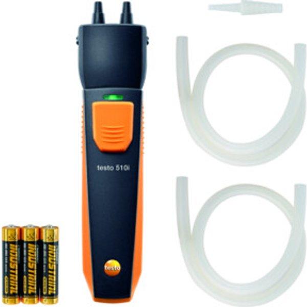 Testo 510 i Differenzdruckmessgerät mit Smartphone-Bedienung