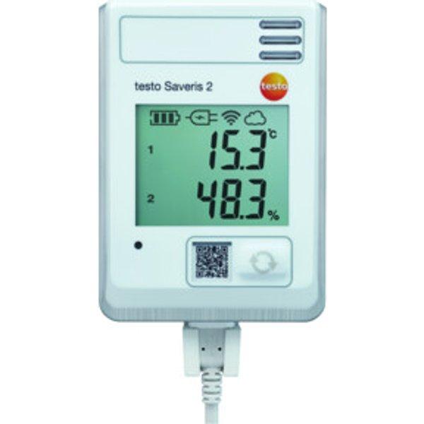 Testo Saveris 2-H1 Funk-Datenlogger, integrierter Temperatur-/ Feuchtefühler