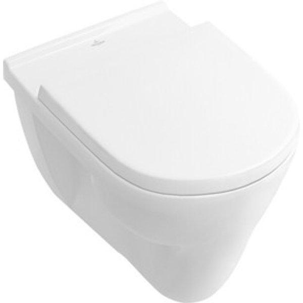 WC plat V+B O.Novo suspendu, 360x360x560mm, blanc - BANYO