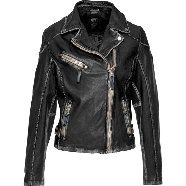Gipsy - PGG LULV - Girls leather jacket - black