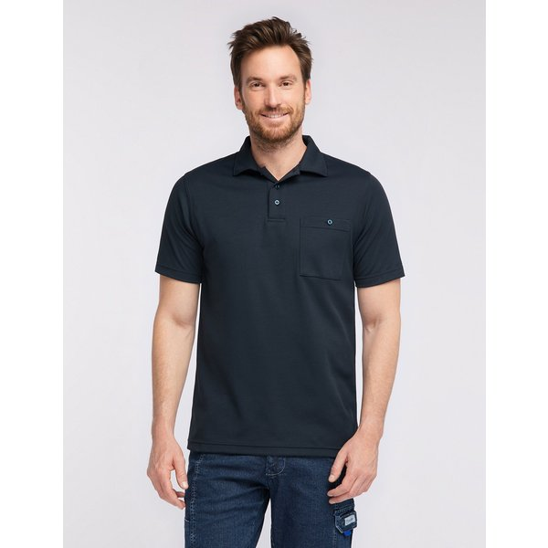 PIONIER WORKWEAR Funktions-Poloshirt Natura/Cotton
