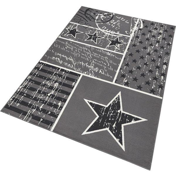 Teppich Patchwork Stars HANSE Home rechteckig Höhe 9 mm maschinell gewebt