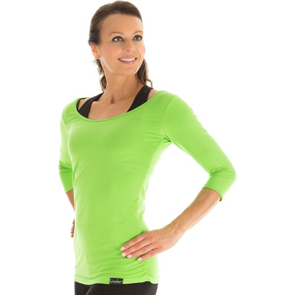 Winshape ¾-Arm Shirt WS4 3/4-Arm-Shirts grün Damen Gr. 46