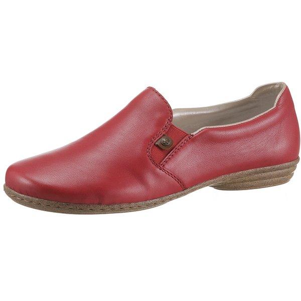 rieker Klassische Slipper rot Damen Gr. 36