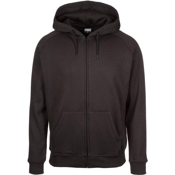 Urban Classics - Blank Zip Hoodie - Hooded zip - black