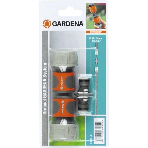 GARDENA 18284-26 KUPPLUNGS-SATZ 3/4 Kit d'embrayage (Gris/Orange)