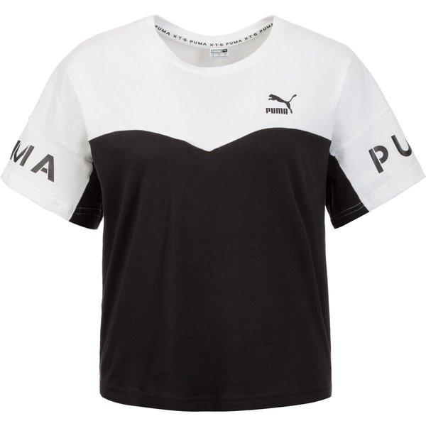PUMA XTG Colorblock Tee T-Shirt Damen (002)