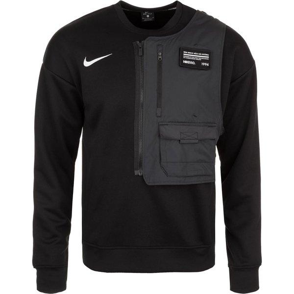 Nike F.C. Fußball-Rundhalsshirt für Herren - Schwarz