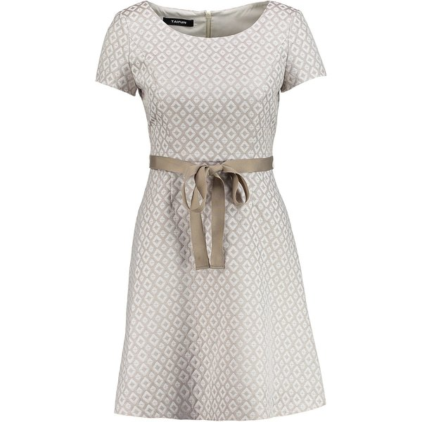 Taifun Kleid kurz »Jacquard-Kleid«