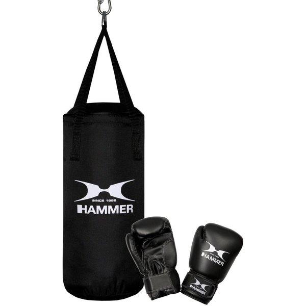 Hammer Boxsack Junior (Set 2-tlg mit Boxhandschuhen)