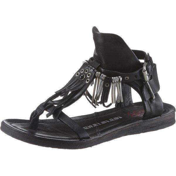 A.S.98 Klassische Sandalen schwarz Damen Gr. 37