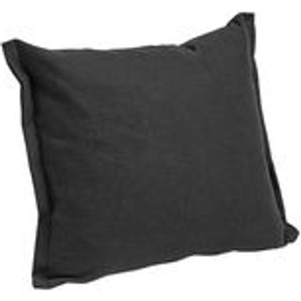 Coussin Plica Tint / 60 x 55 cm - Hay noir en tissu