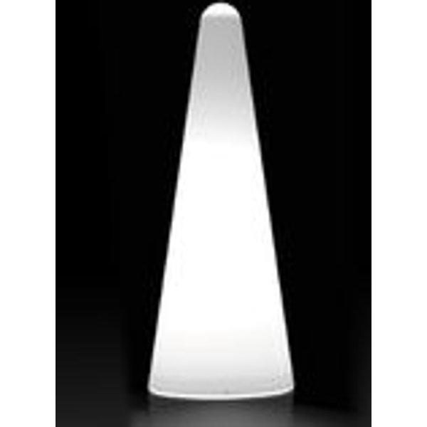 Cono Outdoor Stehleuchte H 113 cm - für den Außeneinsatz - Slide - Weiß