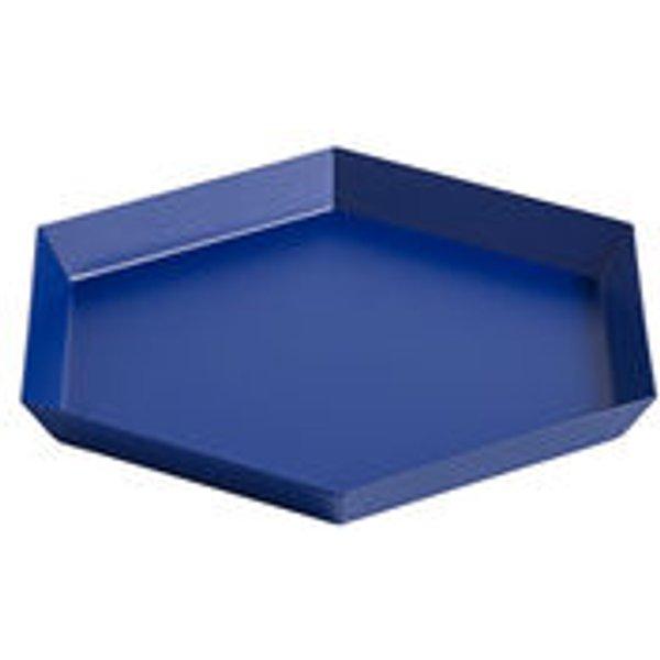 HAY - Tablett Kaleido S - königsblau - indoor