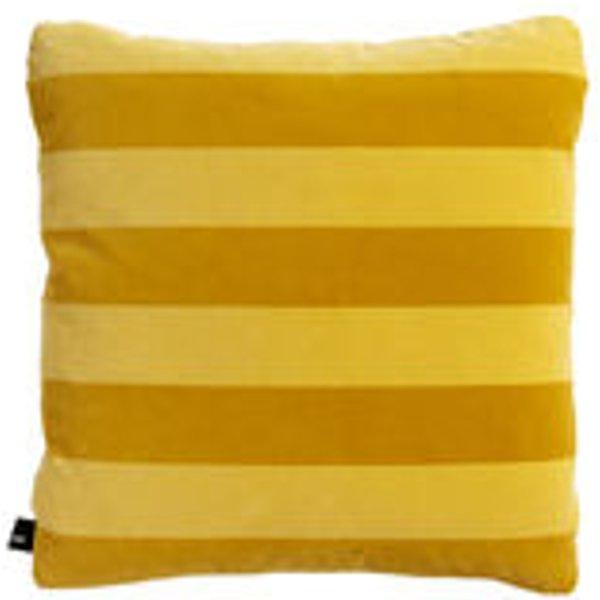 HAY - Soft Stripe Kissen - Yellow - indoor