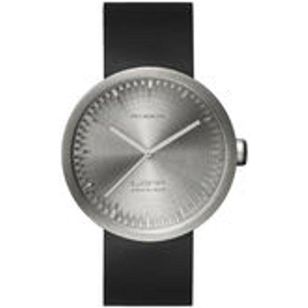 Montre D42 / Bracelet cuir - LEFF amsterdam noir,acier en métal