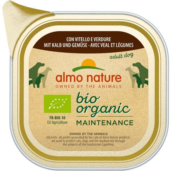 Almo Nature BioOrganic Maintenance 6 x 100g - Organic Veal & Organic Vegetables
