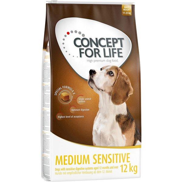 Concept for Life Medium Sensitive - Sparpaket 2 x 12 kg