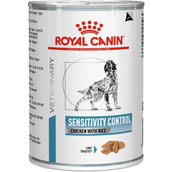 Royal Canin Veterinary Diet Dog – Sensitivity Control Chicken - 12 x 420g
