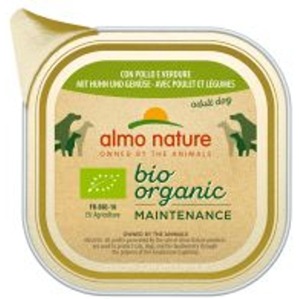 Almo Nature BioOrganic Maintenance 24 x 100 g - Bio Truthahn