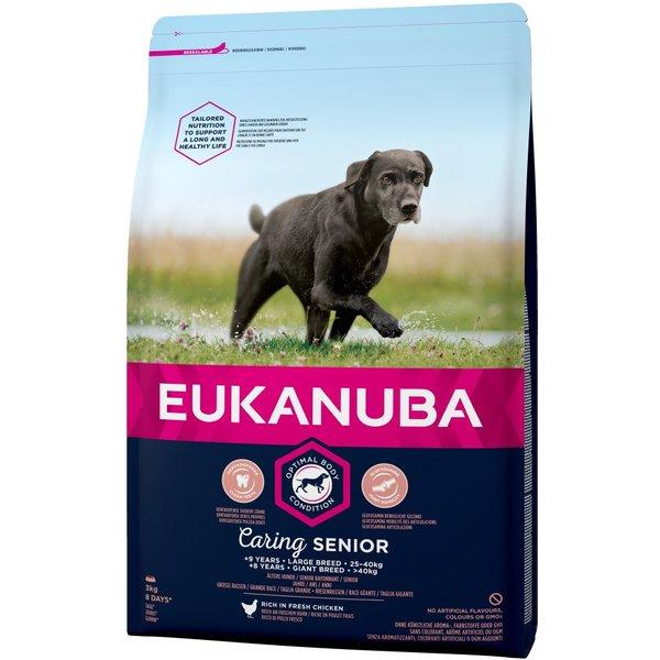 Eukanuba Caring Senior Large Breed - Chicken - 15kg