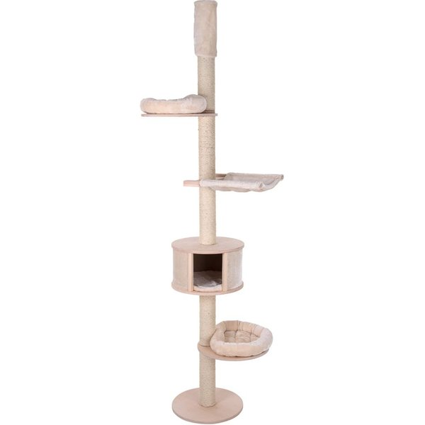 Natural Paradise Ceiling Cat Tree - XL - Chocolate