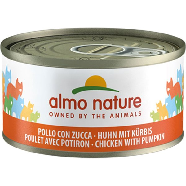 Almo Nature Chat Legend Saumon Pack, 6 x 70 g