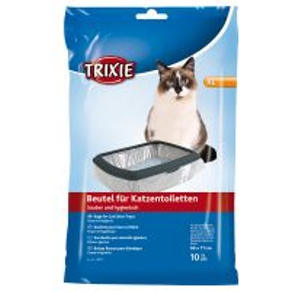Trixie Cat Litter Tray Bags X-Large x 6 Bulk Pack