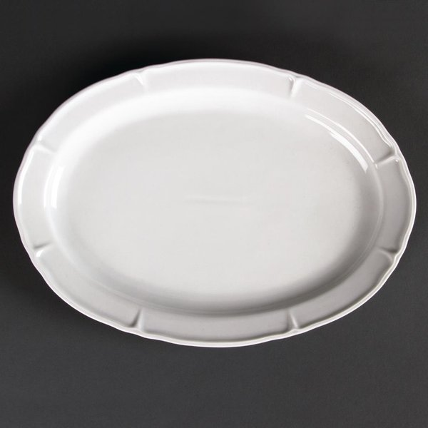 Olympia Rosa Oval Plates 295x 214mm Pack of 4 (GC701)