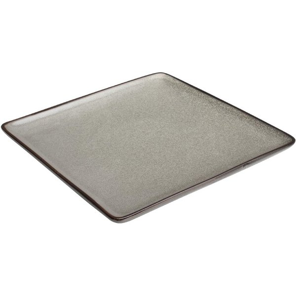 Olympia Mineral Square Plate 230mm Pack of 6 (DF172)