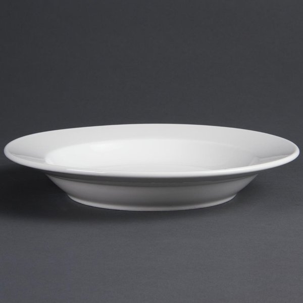Olympia Whiteware Deep Plates 270mm Pack of 6
