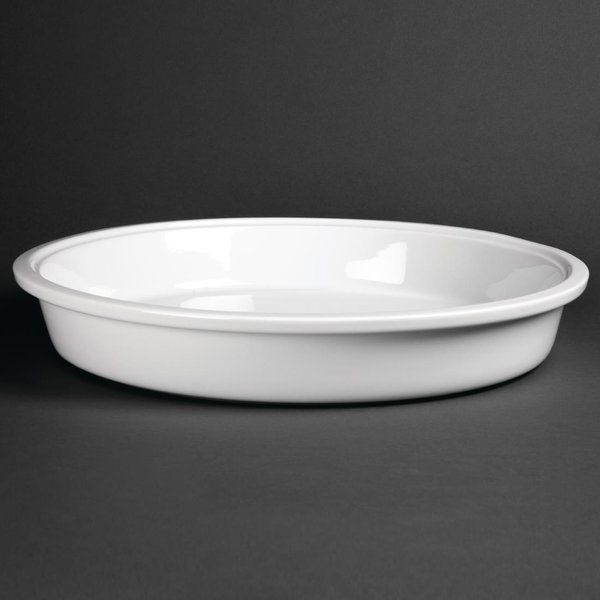 Olympia Whiteware Round Dish 3.7Ltr (CD710)