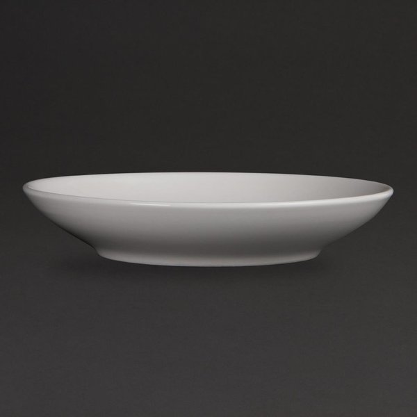 Olympia Whiteware Deep Plates 260mm Pack of 6 (CM187)