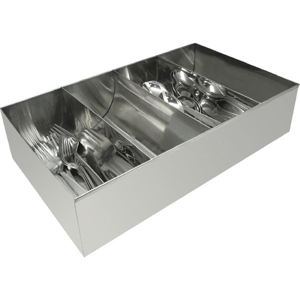 Olympia Cutlery Holder Stainless Steel (DM274)