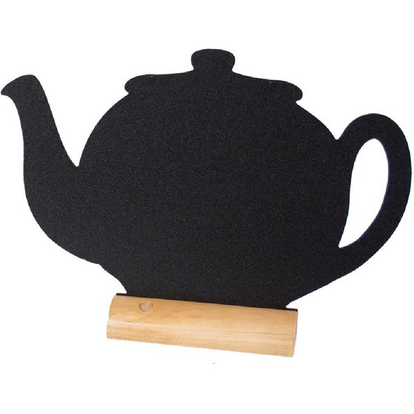 Securit Mini Teapot Shaped Blackboards (Pack of 3) Pack of 3