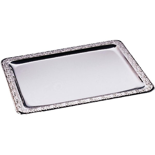 APS Stainless Steel Rectangular Service Tray 500mm