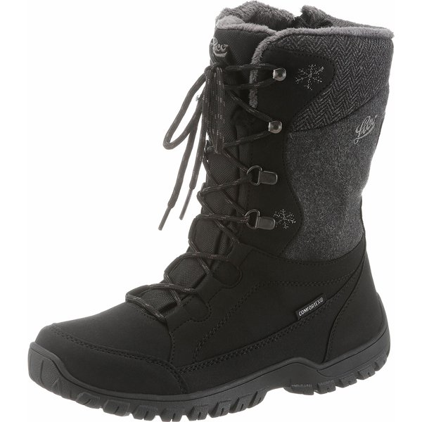 LICO Winter Boots black MAIKE 6.5