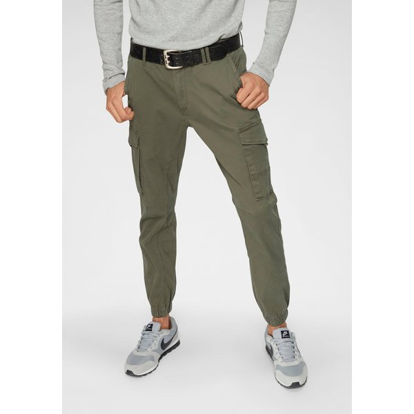 Jack & Jones Intelligence - Pantalon cargo resserré aux chevilles - Vert