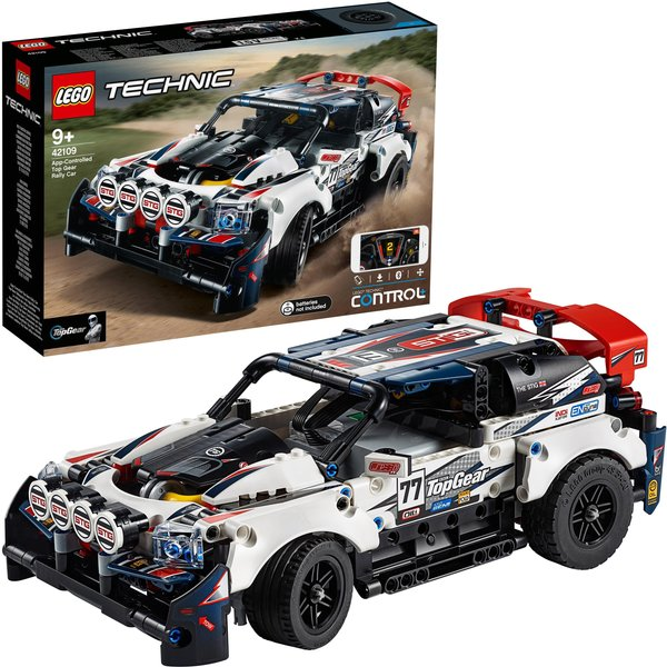 42109 LEGO® TECHNIC Top-Gear Ralleyauto mit App-Steuerung