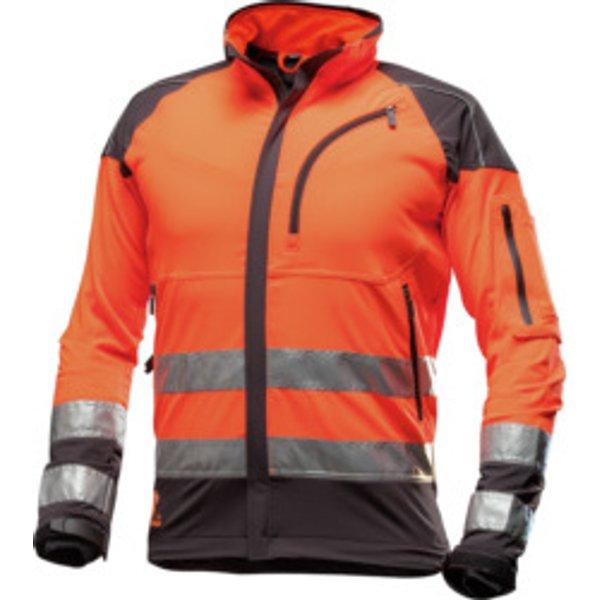 Forst Arbeitsjacke AX-MEN EN20471 orange schwarz