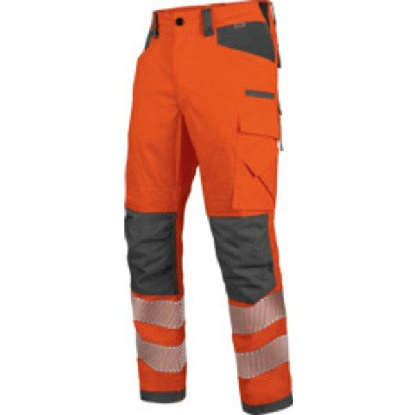 Warnschutz Winter Bundhose Neon EN 20471 2 orange anthrazit