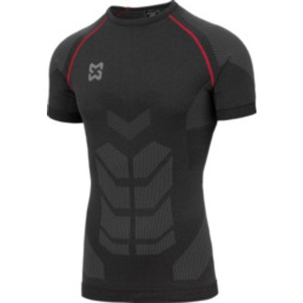 Unterwäsche T-Shirt Basic schwarz rot