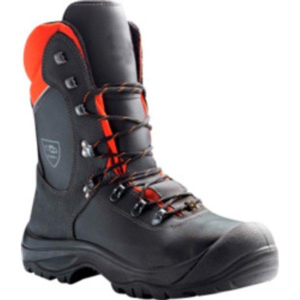 Schnittschutz Sicherheitsstiefel S3 Black Forest schwarz orange