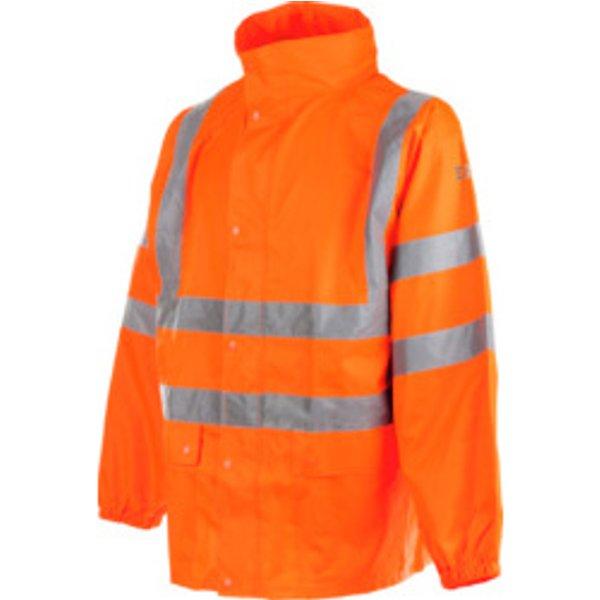 Warnschutz Regenjacke EN 20471 3.2 orange