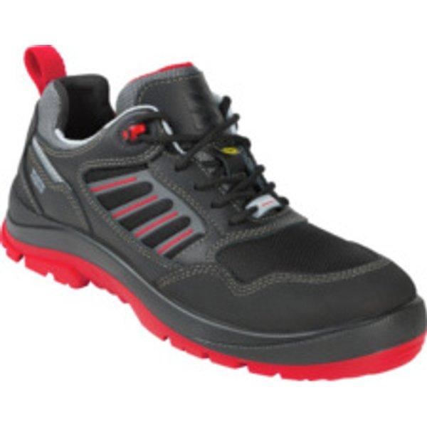 Sicherheitsschuhe S3 ESD Sport Plus Flexitec schwarz rot