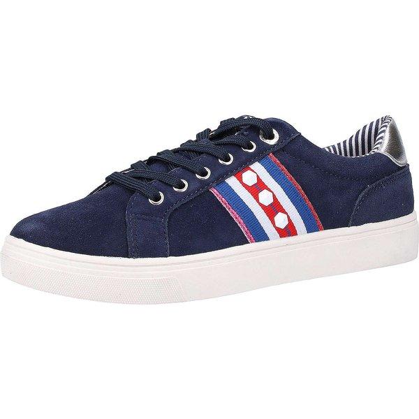 s.Oliver Sneaker Sneakers Low dunkelblau Damen Gr. 38